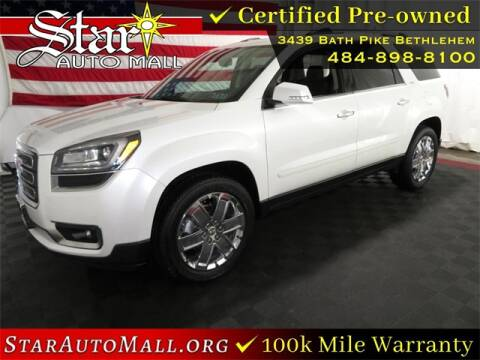 2017 GMC Acadia Limited for sale at STAR AUTO MALL 512 in Bethlehem PA