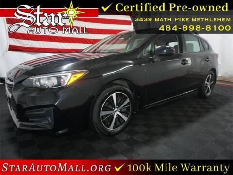 2019 Subaru Impreza for sale at STAR AUTO MALL 512 in Bethlehem PA