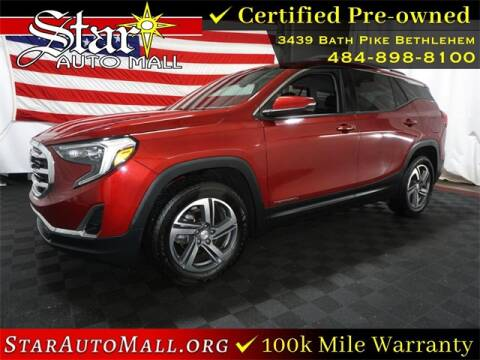 2019 GMC Terrain for sale at STAR AUTO MALL 512 in Bethlehem PA