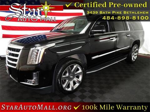 2020 Cadillac Escalade ESV for sale at STAR AUTO MALL 512 in Bethlehem PA