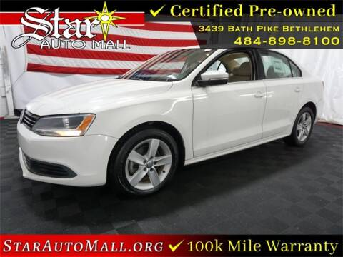 2013 Volkswagen Jetta for sale at STAR AUTO MALL 512 in Bethlehem PA
