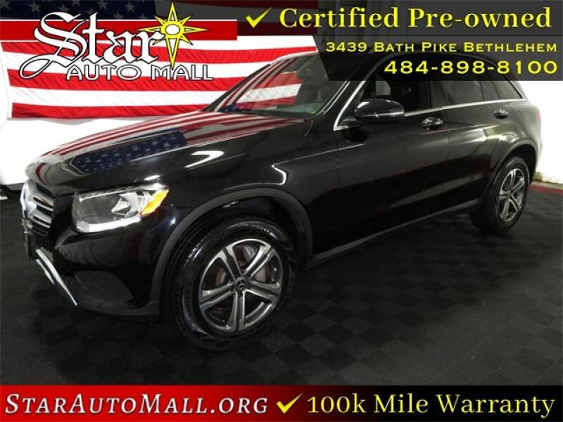 2019 Mercedes-Benz GLC for sale at STAR AUTO MALL 512 in Bethlehem PA