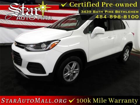 2017 Chevrolet Trax for sale at STAR AUTO MALL 512 in Bethlehem PA