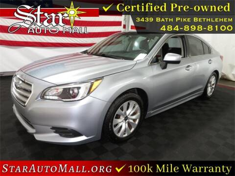 2015 Subaru Legacy for sale at STAR AUTO MALL 512 in Bethlehem PA