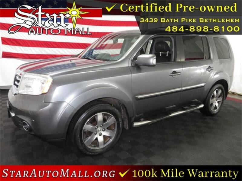 2012 Honda Pilot for sale at STAR AUTO MALL 512 in Bethlehem PA