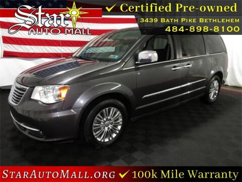 2015 Chrysler Town and Country for sale at STAR AUTO MALL 512 in Bethlehem PA