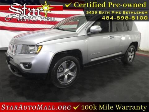 2017 Jeep Compass for sale at STAR AUTO MALL 512 in Bethlehem PA