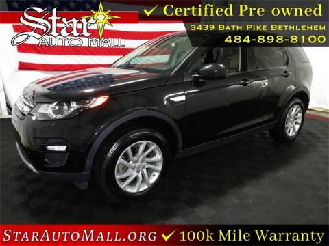2016 Land Rover Discovery Sport for sale at STAR AUTO MALL 512 in Bethlehem PA
