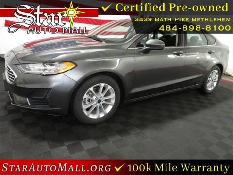 2020 Ford Fusion for sale at STAR AUTO MALL 512 in Bethlehem PA