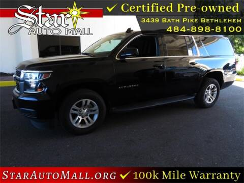 2018 Chevrolet Suburban for sale at STAR AUTO MALL 512 in Bethlehem PA