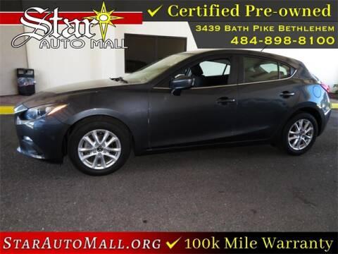 2016 Mazda MAZDA3 for sale at STAR AUTO MALL 512 in Bethlehem PA