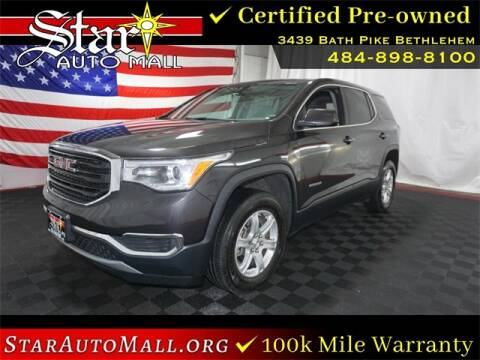 2017 GMC Acadia for sale at STAR AUTO MALL 512 in Bethlehem PA