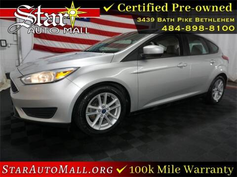 2018 Ford Focus for sale at STAR AUTO MALL 512 in Bethlehem PA