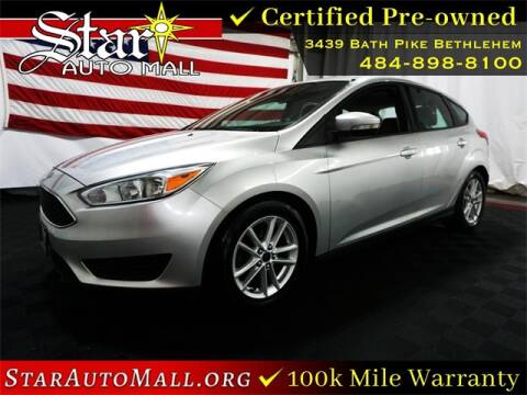 2016 Ford Focus for sale at STAR AUTO MALL 512 in Bethlehem PA