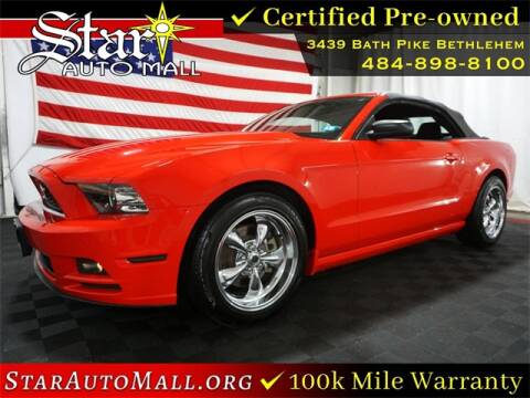 2013 Ford Mustang for sale at STAR AUTO MALL 512 in Bethlehem PA