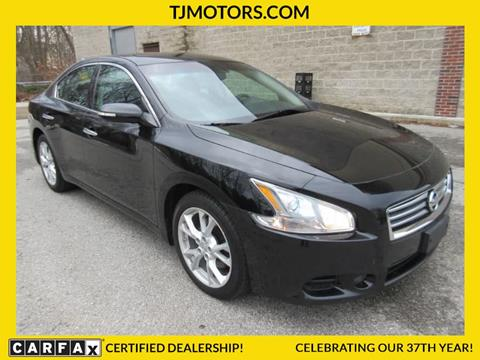 2014 Nissan Maxima for sale in New London CT