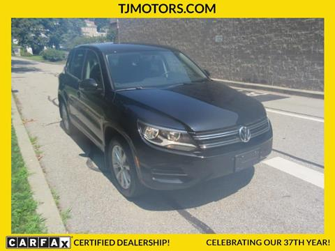 2014 Volkswagen Tiguan for sale in New London, CT