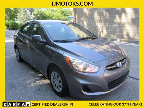 2016 Hyundai Accent for sale in New London, CT