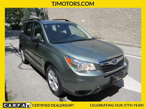 2015 Subaru Forester for sale in New London CT