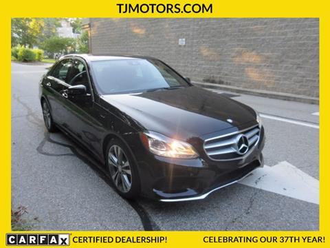 2016 Mercedes-Benz E-Class for sale in New London CT