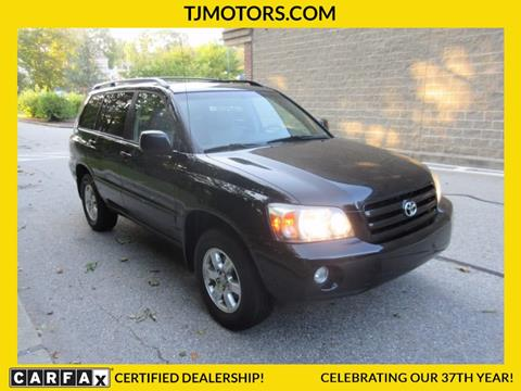 2004 Toyota Highlander for sale in New London, CT