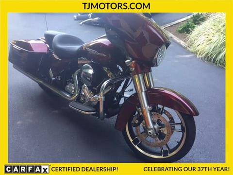 2014 Harley Davidson Street Glide for sale in New London CT