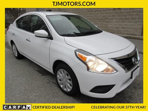 2016 Nissan Versa for sale in New London, CT
