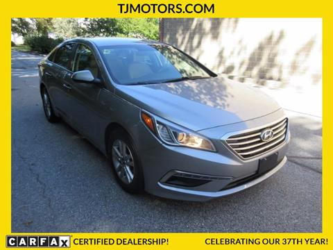 2015 Hyundai Sonata for sale in New London, CT