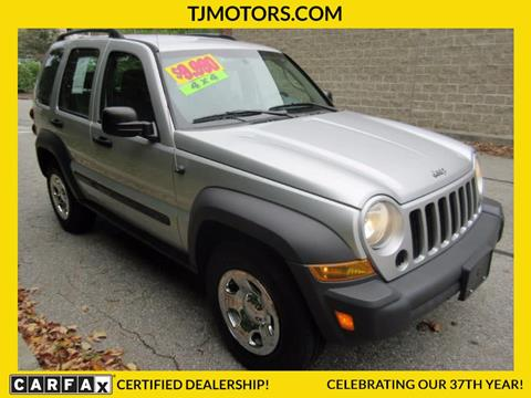 2007 Jeep Liberty for sale in New London, CT