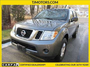 2008 Nissan Pathfinder for sale in New London, CT