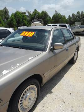 2002 Ford Crown Victoria for sale in Luling, LA