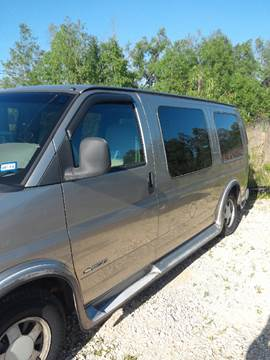 2001 Chevrolet Express Cargo for sale at Finish Line Auto LLC in Luling LA