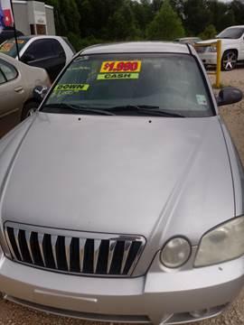 2003 Kia Optima for sale at Finish Line Auto LLC in Luling LA