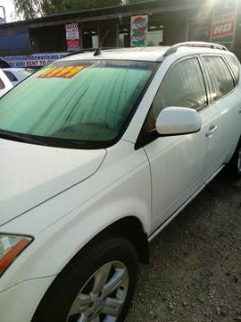 2006 Nissan Murano for sale at Finish Line Auto LLC in Luling LA