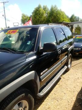 2003 Chevrolet Tahoe for sale at Finish Line Auto LLC in Luling LA