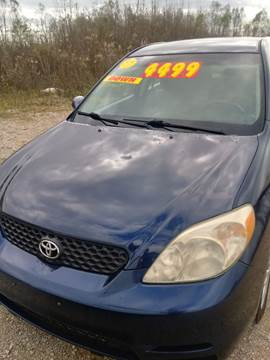 2003 Toyota Matrix for sale at Finish Line Auto LLC in Luling LA