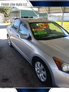 2008 Honda Accord for sale at Finish Line Auto LLC in Luling LA