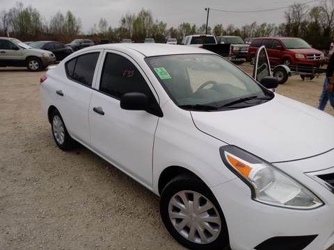 2015 Nissan Versa for sale at Finish Line Auto LLC in Luling LA