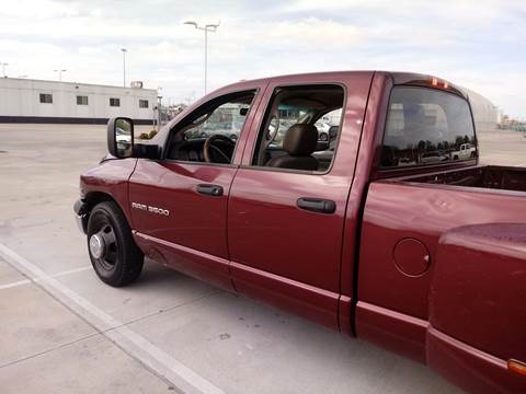 2003 Dodge Ram Pickup 3500 for sale at Finish Line Auto LLC in Luling LA