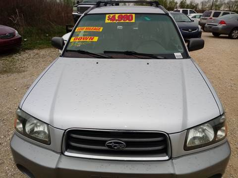2003 Subaru Forester for sale at Finish Line Auto LLC in Luling LA