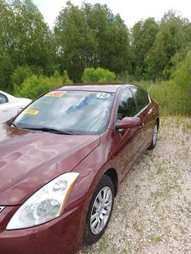 2010 Nissan Altima for sale at Finish Line Auto LLC in Luling LA