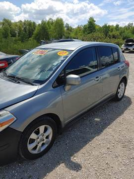 2007 Nissan Versa for sale at Finish Line Auto LLC in Luling LA