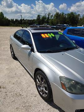 2006 Nissan Altima for sale at Finish Line Auto LLC in Luling LA
