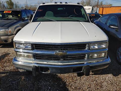 1998 Chevrolet C/K 3500 Series for sale at Finish Line Auto LLC in Luling LA
