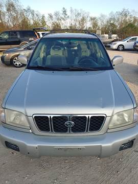 2001 Subaru Forester for sale at Finish Line Auto LLC in Luling LA