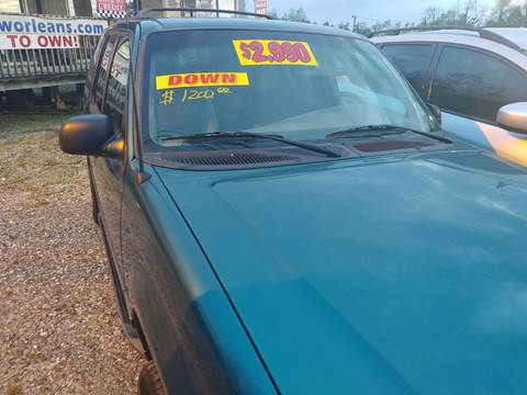 1998 Ford Explorer for sale at Finish Line Auto LLC in Luling LA