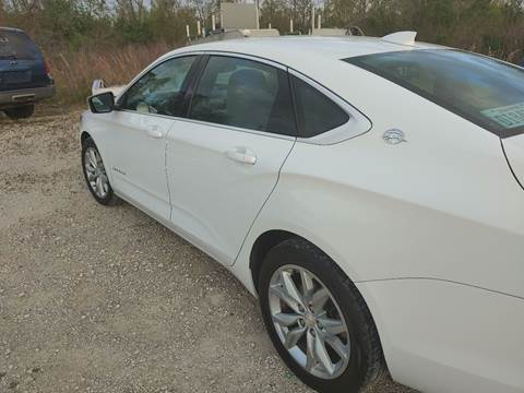 2016 Chevrolet Impala for sale at Finish Line Auto LLC in Luling LA