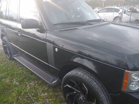 2008 Land Rover Range Rover for sale at Finish Line Auto LLC in Luling LA