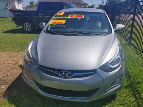 2015 Hyundai Elantra for sale at Finish Line Auto LLC in Luling LA