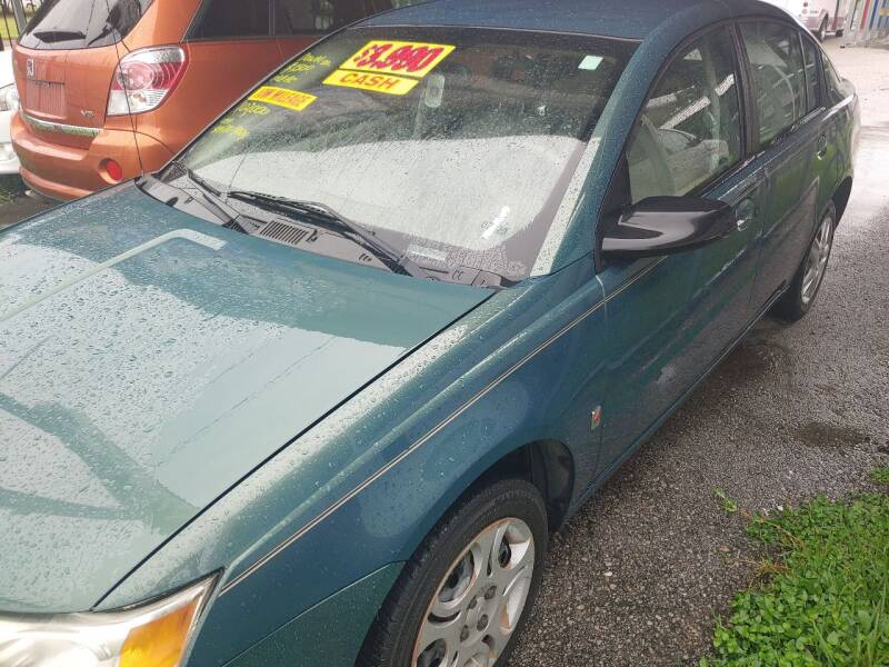 2006 Saturn Ion for sale at Finish Line Auto LLC in Luling LA